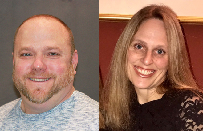 Picture of Eric Stewart and Ellen Wruble Hakim