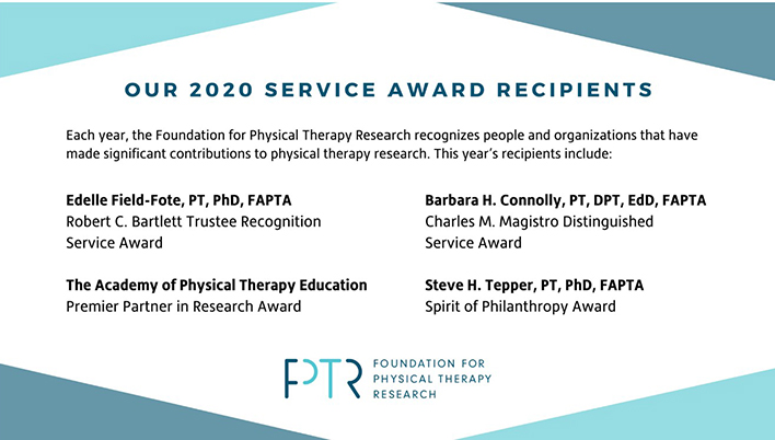 FPTR 2020 Service Award Recipients