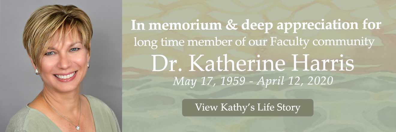 In Memoriam, Faculty, Dr. Katherine Harris